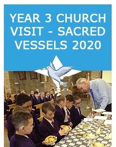 Year 3 Church Visit Sacred Vessels 2020