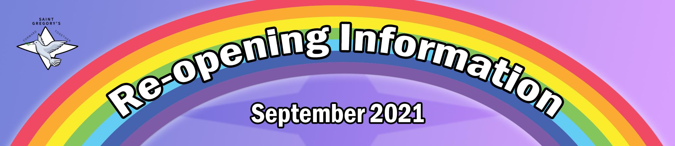 Reopening 2021